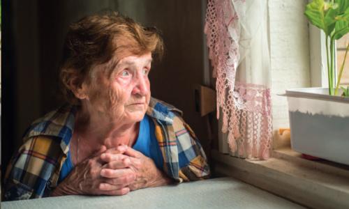 La Solitude Des Personnes âgées, Un Fléau En Cette Période De COVID-19